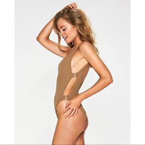 L*Space Mayra One Piece in Camel